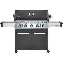 Prestige 665 RSIB Infrared Side & Rear Burners , Grey , Natural Gas