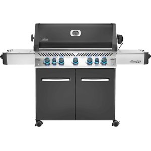Napoleon GrillsPrestige® 665 RSIB Infrared Side & Rear Burners , Grey , Natural Gas