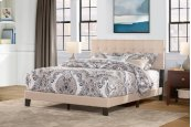Queen Delaney Bed In One - Linen