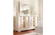 Tower Suite - Pearl Finish Dresser Mirror