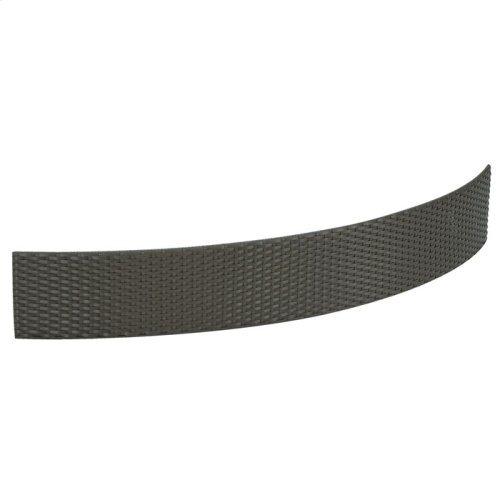 Half Woven Curved Panel