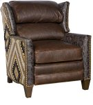 Santorini Leather Fabric Recliner Product Image