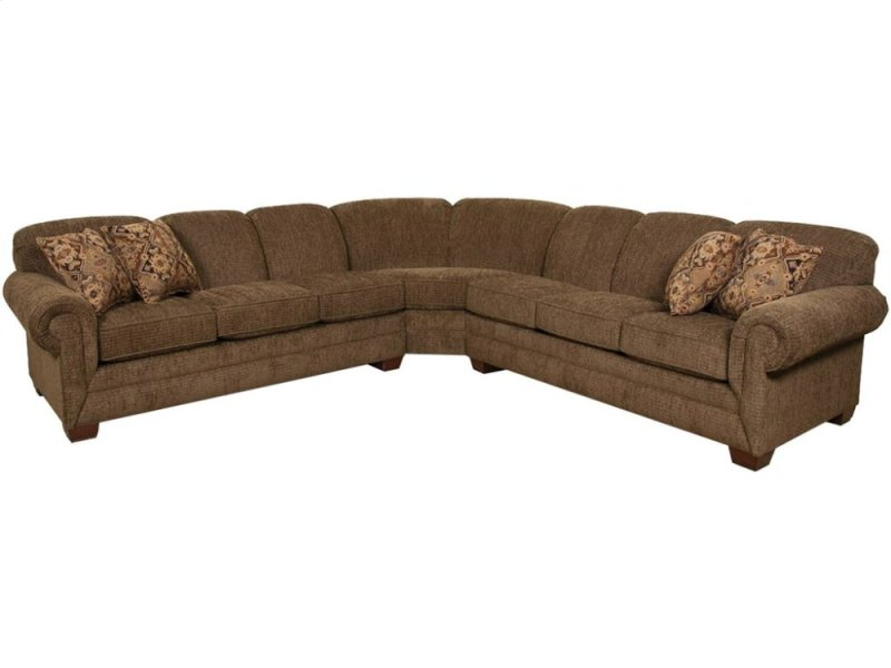 1430sect In By England Furniture In Watertown Ny Monroe Sectional