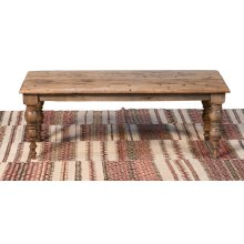 Old Teak Peking Garden Bench, 48""