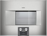 """400 series  Stainless steel-backed full glass door Width 24"""" (60 cm) Right-hinged Controls at the bottom"""
