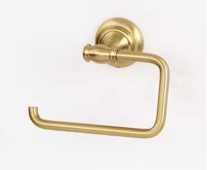 Charlie's Collection Single Post Tissue Holder A6766 - Satin Brass Product Image