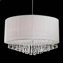 12-LIGHT PENDANT - Chrome
