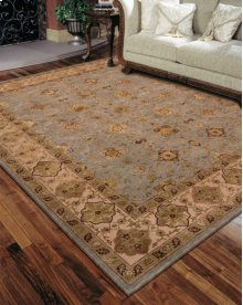 Nourison 3000 3103 Aqu Rectangle Rug 2'6'' X 4'2''