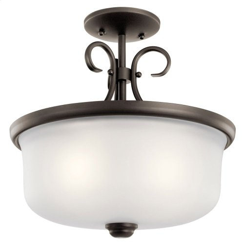 Bixler Collection Bixler 2 light Pendant/Semi Flush OZ