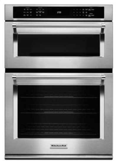 "30"" Combination Wall Oven with Even-Heat True Convection (Lower Oven) - Stainless Steel Product Image"