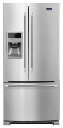 33-inch Wide French Door Refrigerator with Temperature Controlled Beverage Chiller - 22 cu. ft.