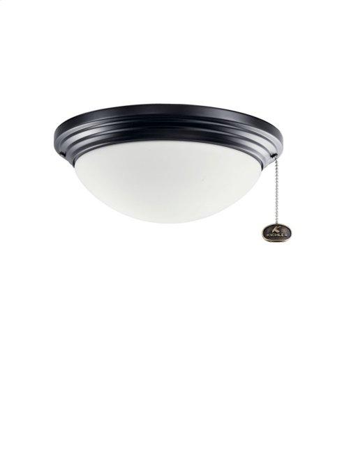 "Outdoor Light Kit 11"" CFL Satin Black"