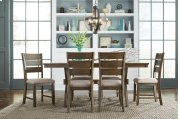 Leg Table W/6 Chairs Product Image