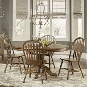 Liberty Furniture Industries5 Piece Pedestal Table Set