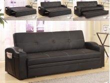 Easton Adjustable Sofa Black