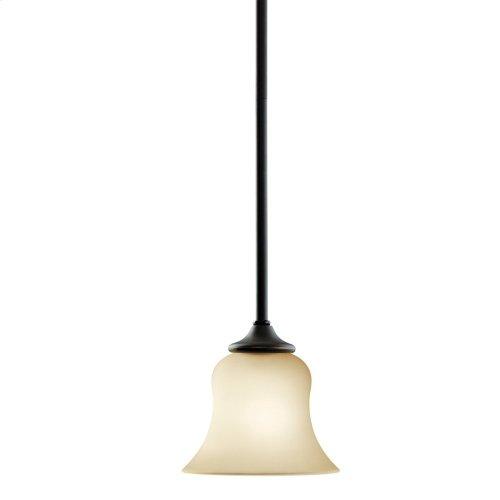 Wedgeport 1 Light Mini Pendant in Olde Bronze®