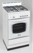 "Model DG200W - 20"" Deluxe Gas Range White Product Image"