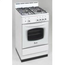 "Model DG200W - 20"" Deluxe Gas Range White"