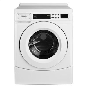 "WhirlpoolWhirlpool® 27"" Commercial High-Efficiency Energy Star-Qualified Front-Load Washer, Non-Vend - White"