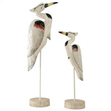 Set of 2 Seaguar Heron Accessories on Stands