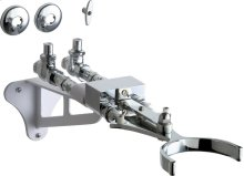Hot and Cold Water Mixing Knee Actuated Pedal Box