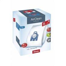 SB SET GN+AA XL AirClean XL-Pack AirClean 3D Efficiency GN 8 dustbags and 1 HEPA AirClean filter at a discount price