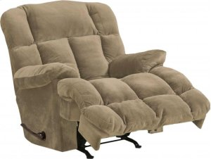 "Power Chaise Recl w/""Lay Flat"" Feature - Camel"