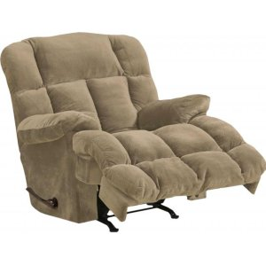 """Power Chaise Recl w/""""Lay Flat"""" Feature - Camel"""