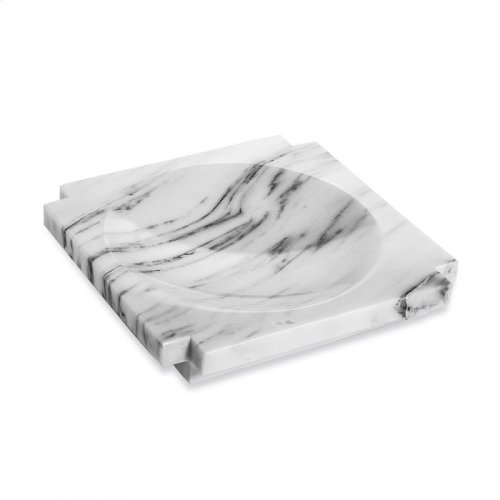 Haven Marble Candy Dish - Arabescato