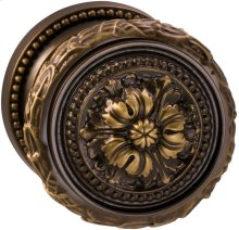 Interior Ornate Knob Latchset in (SB Shaded Bronze, Lacquered)