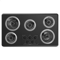 36-inch Amana® Electric Cooktop with 5 Elements - black