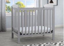 Mini Crib with Mattress - Grey (026)