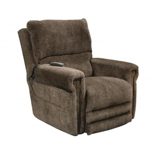 Power Headrest w/Lumbar Power Lay Flat Lift Recliner