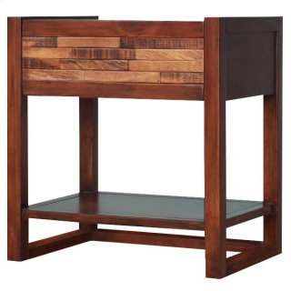 Callisto Night Stand/Side Table, Java