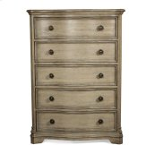 Corinne Five Drawer Chest Sun-drenched Acacia finish