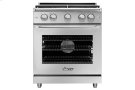 """30"""" Heritage Gas Epicure Range, Silver Stainless Steel, Natural Gas Product Image"""