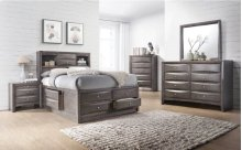 Emily Grey Bedroom Collection