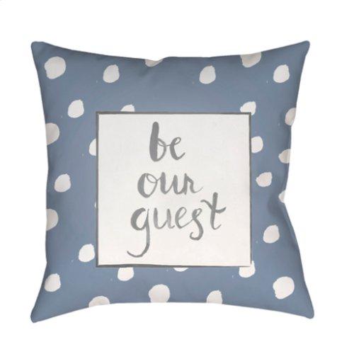 "Be Our Guest QTE-003 20"" x 20"""