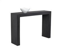 Axle Console Table - Black