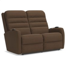 Forum Power Wall Reclining Loveseat w/ Headrest & Lumbar