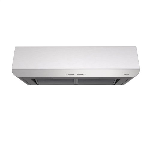 Spire 48-Inch 400 CFM Stainless Steel Range Hood with LED light