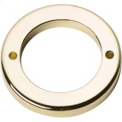 Tableau Round Base 1 13/16 Inch - French Gold