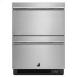 "Jenn-AirRISE 24"" Double Drawer Refrigerator/Freezer"