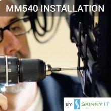 MM540 TV Mount Installation