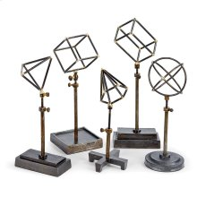 Geometrical Shapes On Stand (set of 5)