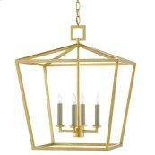 Denison Gold Medium Lantern