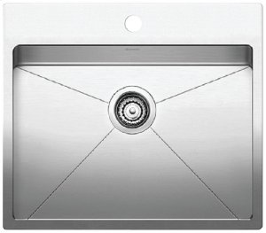 Blanco Quatrus® R15 Laundry Sink - Satin Finish Product Image