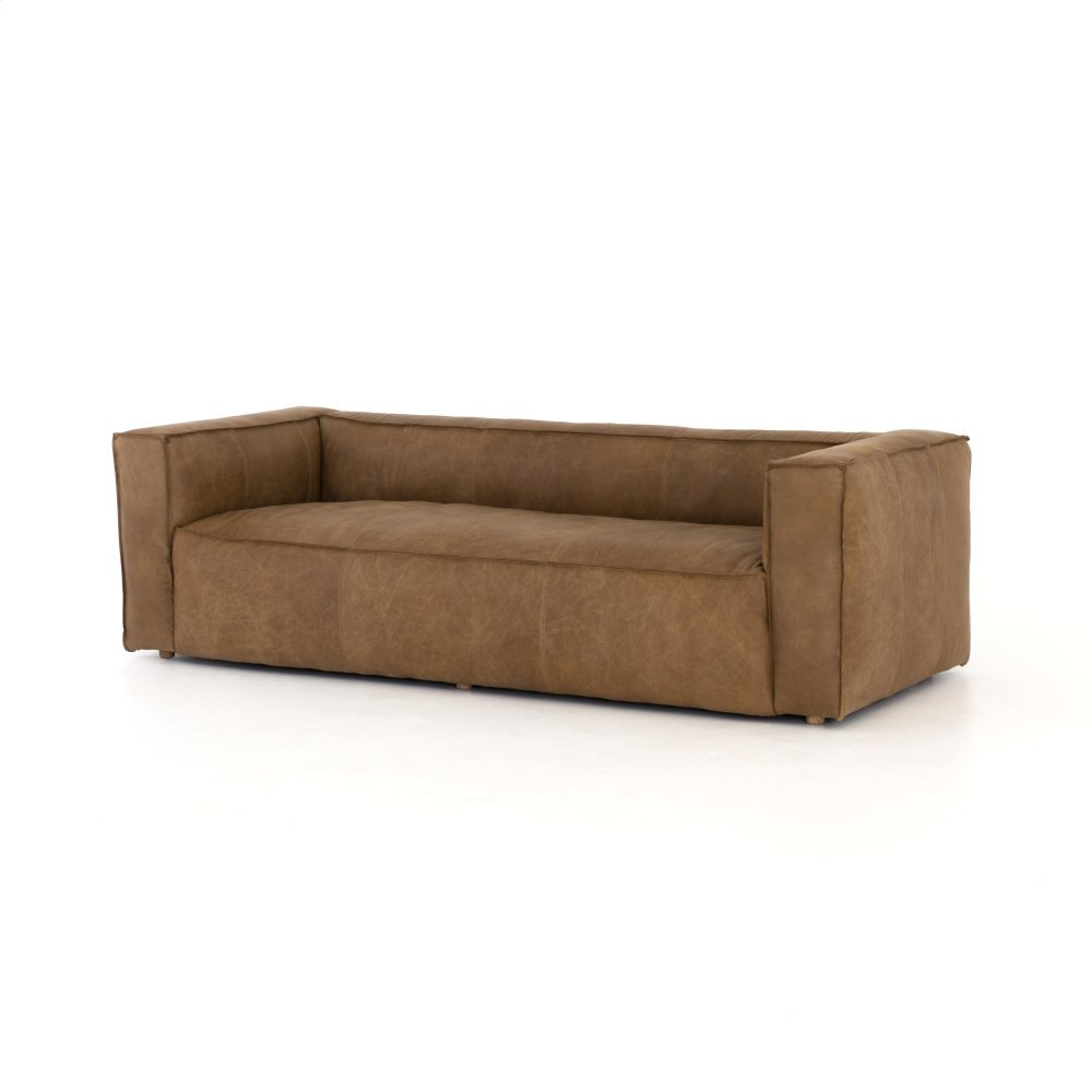 Natural Washed Sand Cover Nolita Reverse Stitch Sofa