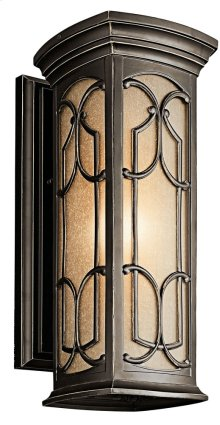 "Franceasi 18"" 1 Light Wall Light Olde Bronze®"