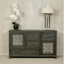 Bolt Dresser - Dark Graywash